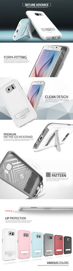 OBLIQ Obliq Samsung Galaxy S6 Case Skyline Advance Series - Galaxy S6 - Galaxy - Products