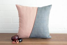 Boho vintage style pillow cushion cover in by littlecrowdesign