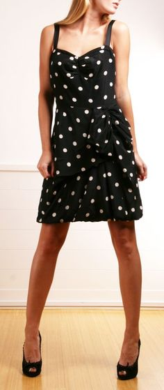 Polka Dots Dress.