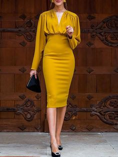 Stylewe Party Dresses Long Sleeve Formal Dresses Evening Bodycon Choker Neck Zipper Sexy Dresses