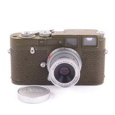 Leica M1 Olive Bundeseigentum Set Rare