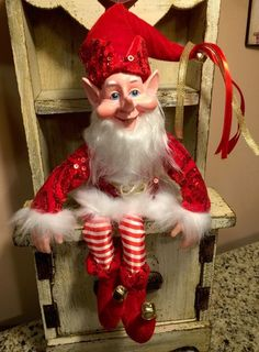 Singing Jazzy Merry Christmas Santa Claus Decoration Ornament Traditional 310