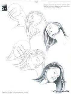 drawing head at angles Drawing Skills, Drawing Techniques, Figure Drawing, Pencil Art Drawings, Art Drawings Sketches, Drawing Heads, Face Sketch, Fashion Design Drawings, Art Sketchbook