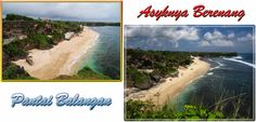 Pantai Balangan yang mempesona di Kuta Bali