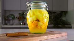 Receita de Conserva de de manga e maçã. Descubra como cozinhar Conserva de de manga e maçã de maneira prática e deliciosa!