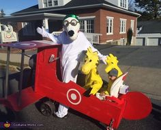 Snoopy & Friends Family Costume - 2015 Halloween Costume Contest