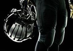 Promo shot 2 of the Oregon Duck's 2011 Rose Bowl uniforms -- clearer view of the chrome helmets