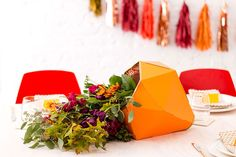 Create a Beautiful Cornucopia With This IKEA Hack via Brit + Co