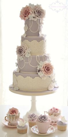 Vintage Couture wedding cake | Flickr - Photo Sharing!