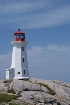 Light House in Nova Scotia