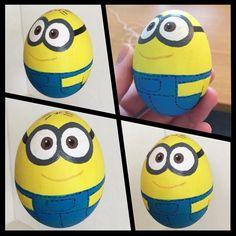 Minion-themed Easter Eggs.