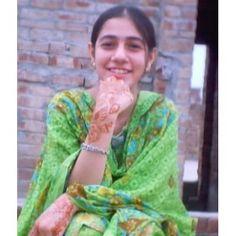 Pakistani Girl in Green Salwar Kameez