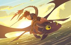SLIDES THIS INTO THE ANIME EXPO PILE I finished this just in time! I've always loved the HTTYD series, it would've been criminal for me not to have done some fan art in some way shape or form. Expect this at cons this summer!