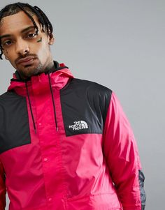 The North Face | The North Face 1985 Mountain Jacket Exclusive to ASOS In Bright Pink
