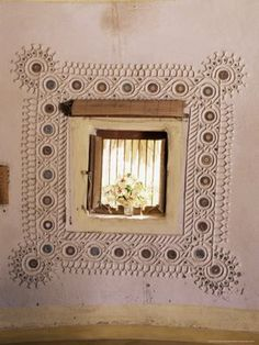 kutch mud art | artnlight: The mud mirror homes of Gujarat