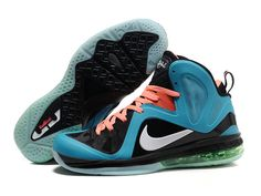 01251ef574e Buy Nike LeBron 9 PS Elite South Beach Glacier Blue Black Orange Online  from Reliable Nike LeBron 9 PS Elite South Beach Glacier Blue Black Orange  Online ...
