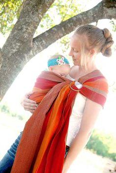 Kalea Baby handwoven cotton ring sling, Keiko. Baby Wearing Wrap, Baby L, Ring Sling, Babywearing, Tricycle, Beautiful Babies, Plaid Scarf, Motors, Hand Weaving