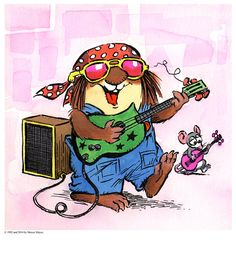 #Little Critter says it's #MusicMonday.  Let's play!!