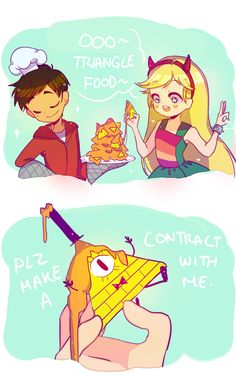 Engiru_Fanarchy RIP Marco's Super Awesome Nachos Star vs the forces of evil gravity falls Gravity Falls Crossover, Fandom Crossover, Disney Xd, Disney And Dreamworks, Animation, Starco Comics, Bd Art, Star Force, Cartoon Crossovers