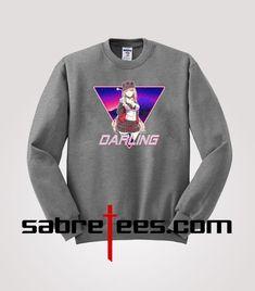 Darling dans le franxx Strelizia 02 Zero deux Cosplay Causel T-Shirt Top Tee sa