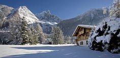 Chalet Lumiere mit Blick auf das Mont-Blanc-Massiv