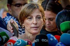 La Fiscalia es querella contra Forcadell per prevaricació i desobediència