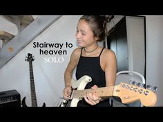 Chloé: Stairway to heaven Solo   'Stairway to heaven' originally by Led Zeppelin Backing track : https://www.youtube.com/watch?v=9A77W... Tabs : http://ift.tt/2cGaFh9... Stairway to heaven Solo (Cover by Chloé) Chloé