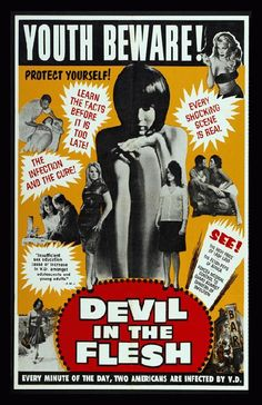 High quality reproduction movie poster for Devil In the Flesh starring Micheline Presle, Gerard Philipe and Denise Grey from 1947. 11 x 17 inches on card stock.