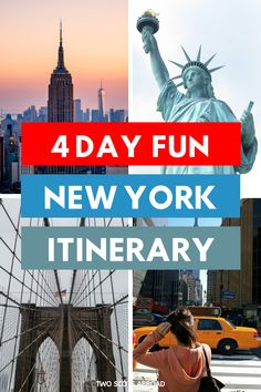 How to spend 4 days in New York! 4 days in New York, New York City, how to plan a trip to New York, New York travel tips, New York itinerary, perfect 4 days in New York, things to do in New York City, New York views, New York at night, New York attractions, New York itinerary, New York tips, budget New York, New York City skyline, New York City travel #newyorkcity Usa Travel Guide, Travel Guides, Travel Tips, Time Travel, Travel Usa, York Attractions, Usa Cities, Dream Trips, New York City Travel