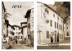 Taverna al Frico in Polcenigo, Italy.  The Frico .....yummmm