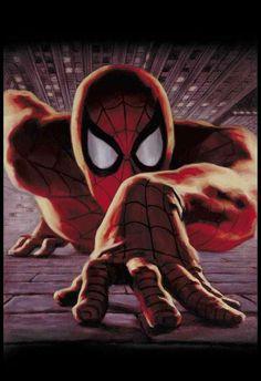 #Spiderman #Fan #Art. (Spider-Man Coppermine Photo Gallery) By: Glen Orbik. (MAJOR ÅWESOMENESS!!!™) [THANK U 4 PINNING!!]
