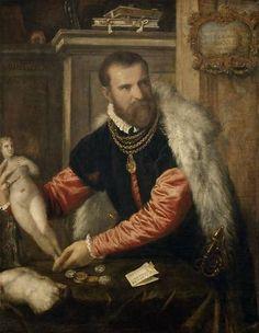 Tiziano Vecellio, called Titian. Portrait of Jacopo Strada, ca. 1567–1568