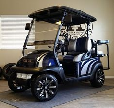 At Action Golf Cart Rentals & Sales, we are your custom golf cart specialists. If you don't see what you're looking for on our cart models page, odds are good we can build you a cart specific to your needs. We can feature nearly any unique request and des Used Golf Carts, Golf Carts For Sale, Custom Golf Carts, Golf 7, Play Golf, Mens Golf, Golf Club Sets, Golf Clubs, Electric Scooter For Kids