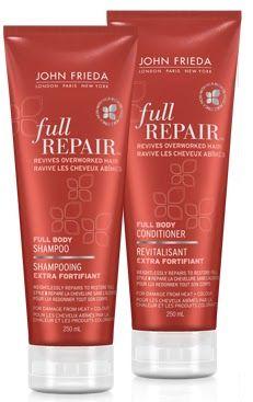 john-frieda-full-repair-shampoo-and-conditioner BN **45 ML SIZE**