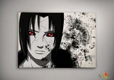 Naruto Shippuuden Uchiha Itachi Watercolor Print