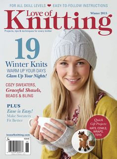 Love of Knitting - Winter 2015 — Yandex.Disk You are in the right place about knitting patterns poncho Here we offer you the most beautiful pictures about the knitting patterns stitches you are lookin Love Knitting, Simply Knitting, Knitting Books, Knitting For Kids, Knitting Yarn, Knitting Patterns, Beginner Knitting, Stitch Patterns, Knitting Magazine