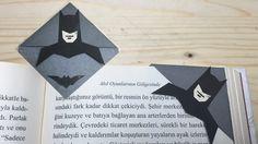 Batman Kitap Ayracı Nasıl Yapılır ??? DIY