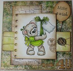 Geburtstagskarte Coco with Present