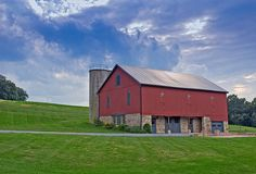 Nothing quite so beautiful as a big, red Pennsylvania barn