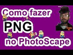 Como fazer PNG no PhotoScape