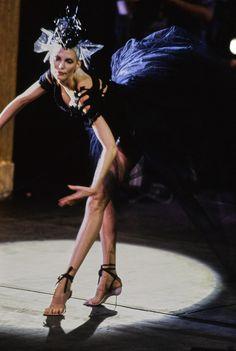 John Galliano Spring 1996 Ready-to-Wear Fashion Show - Nadja Auermann