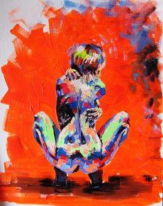 "Saatchi Online Artist anora ashurova; Painting, ""Sofia"" #art"