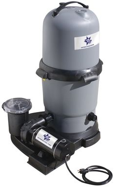 Amazon.com : Waterway BS5205140-6S Blue Star Clearwater II Cartridge Filter System with 1 HP Pump, 100 Square Feet : Swimming Pool Cleaning Tools : Patio, Lawn & Garden