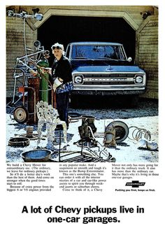 1970 Advertisement for Chevy Trucks