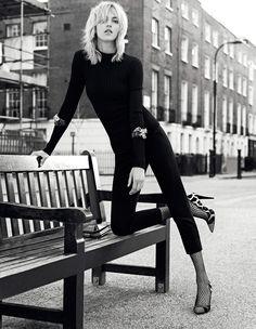Campañas publicitarias moda otoño invierno 2013 2014 - Anja Rubik - Giuseppe Zanotti - Karim Sadli