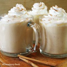 Gooseberry Patch Recipes: Harvest Hot White Chocolate made with pumpkin, spices and white chocolate! From Hometown Harvest Cookbook.