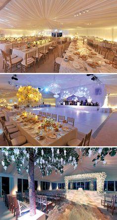 Fabulous Paleyellow Uplighting At This Wedding Reception Diy Inspiration