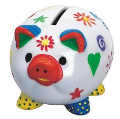 View Animal Crafts in Art Supplies & Craft Kits at S&S Worldwide Personalized Piggy Bank, Personalised Gifts Diy, Arts And Crafts Kits, Craft Kits, Piggy Bank Craft, Pig Bank, Vbs Themes, Cute Piggies, This Little Piggy