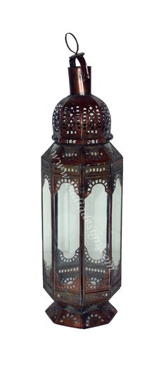 Tall Standing Lantern With Clear Glass   Can Be Used Indoors Or Outdoors,  (http