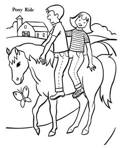 Learning Friends Horse baby animal coloring printable from LeapFrog ...